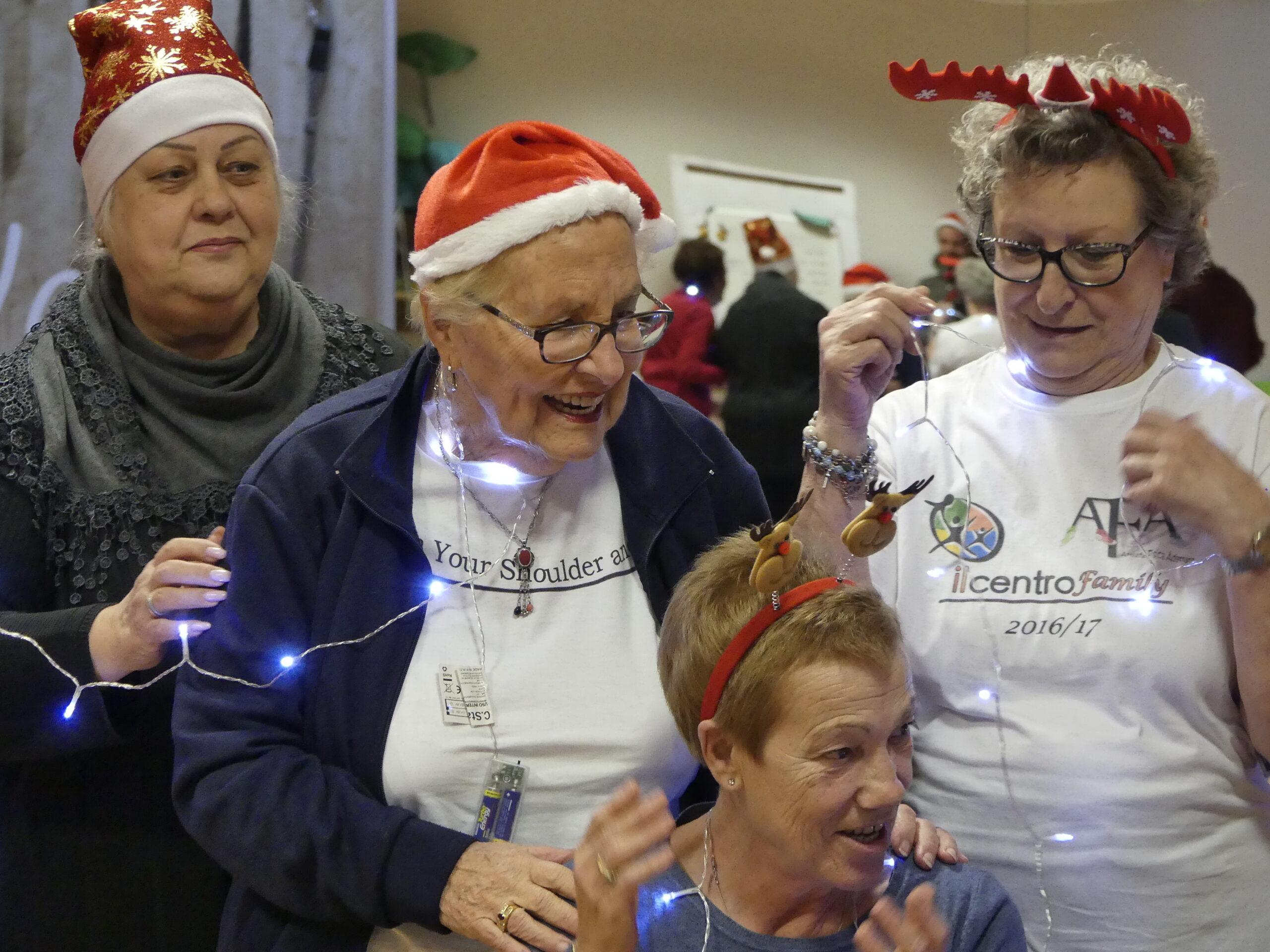 ginnastica dolce per anziani correttezza posturale socializzare presso associazione il centro 4.0 viareggio
