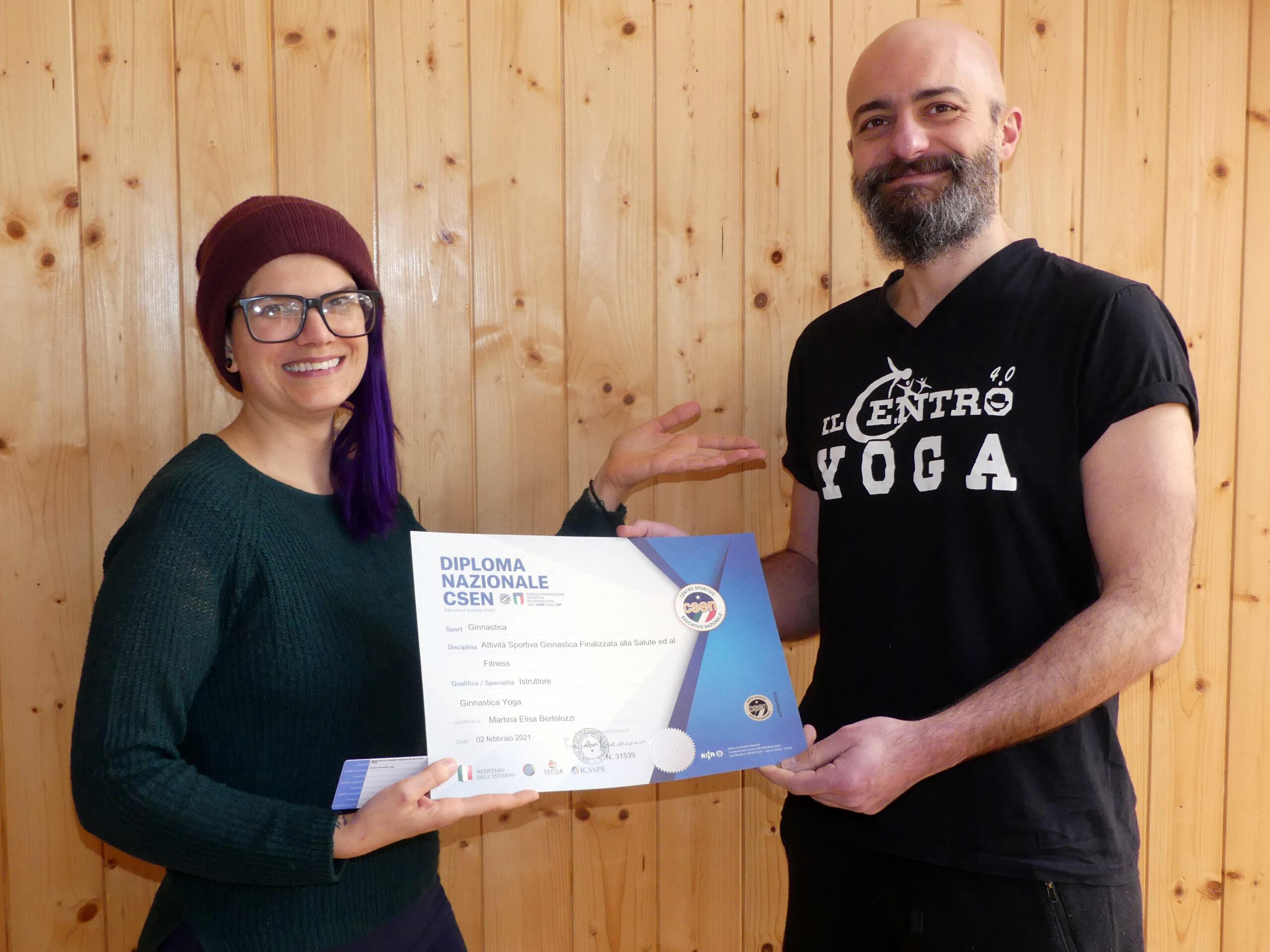 Guido baligioni martina elisa bertolozzi corso insegnanti yoga csen yoga alliance trasforma la tua passione in lavoro